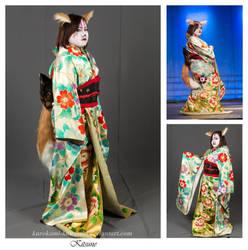 Kitsune by Kurokami-Kanzashi