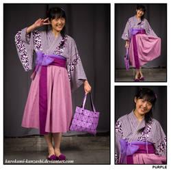 Every Colour of the Rainbow - Purple by Kurokami-Kanzashi