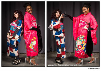Every Colour of the Rainbow - Kimono Love by Kurokami-Kanzashi