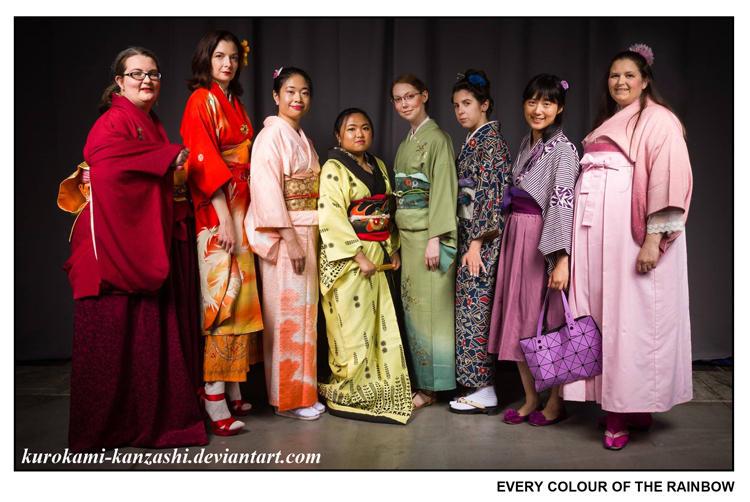 Every Colour of the Rainbow I by Kurokami-Kanzashi