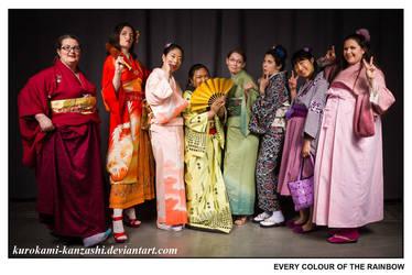 Every Colour of the Rainbow II by Kurokami-Kanzashi