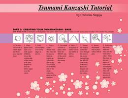 Kanzashi Tutorial - Part 3 by Kurokami-Kanzashi