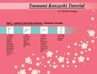 Kanzashi Tutorial - Part 7 by Kurokami-Kanzashi