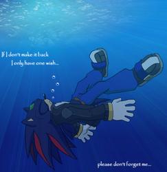 Drowning... one last wish by LeatherRuffian