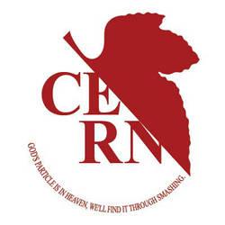 CERN logo by blue-elem3nt
