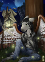Dark Horse by blue-elem3nt