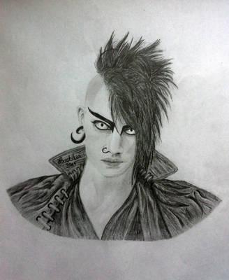 Gothic Punk Boy... by LaetitiaEvalia