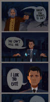 connor and hank comic #2 by warholsdog