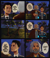 curious connor [hank and connor comic #3] by warholsdog