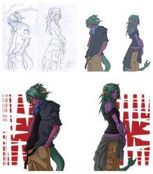 Kunnaras and Zarnyss-process by SueKeruna