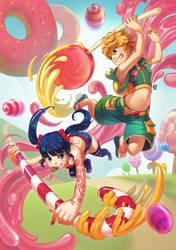 Candy Attack by SueKeruna