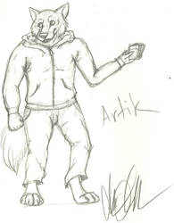 Artik drawn by AbberrationClarified by Scourge87