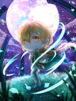 Contest - Lauriai God of Magic by ReebeeTk