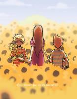 Sunflower Fields by Jingleshinpu