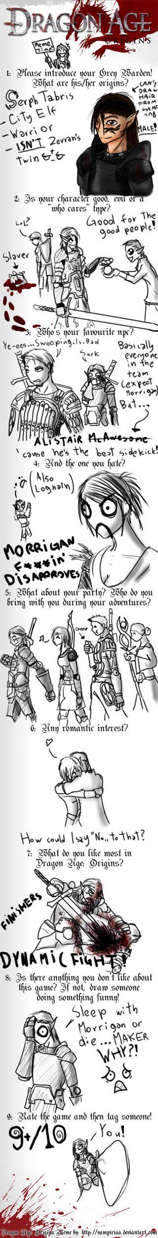 Dragon Age Meme by xDeadbrainx