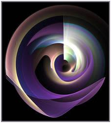 Swirling Purple People Eater by ChristopherPayne