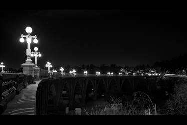 Bridge Lights by ChristopherPayne