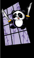 Ninja Panda by DomNX