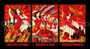 Revolution Triptych by DomNX