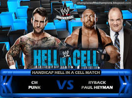 Hell in a Cell 2013 by Jahar145