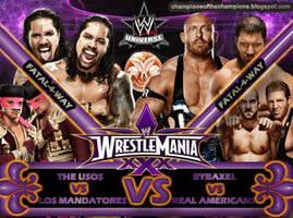 WWE Wrestlemania 30 Pre-Show by Jahar145