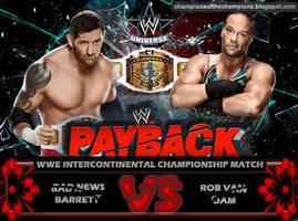 WWE Payback 2014 - Bad News Barrett vs Rob Van Dam by Jahar145