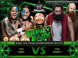 WWE Money in the Bank 2014 - The Usos vs The Wyatt by Jahar145