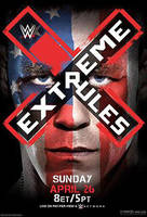 WWE Extreme Rules 2015 Official Poster by Jahar145