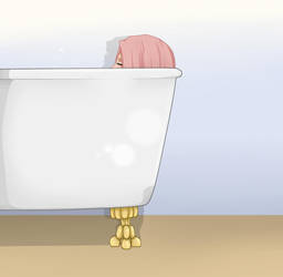 Sakura - Bath Time by xiCuddleMonster