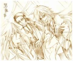 Kuroshitsuji : Shinigami Gang by mrsloth