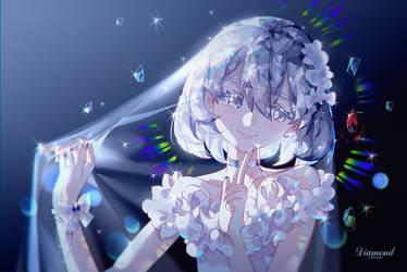 diamond by INstockee