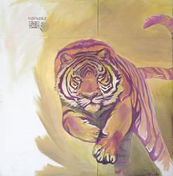 Technicolor Tiger by SMcNonnahs