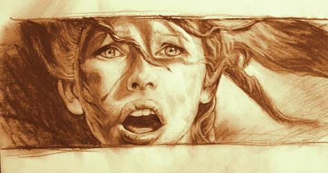 Milla Jovovich / Leeloo Dallas sketch by SMcNonnahs