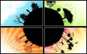 Four Seasons by Kresselak