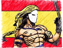 Vega Street Fighter Spain by EscribaRegio