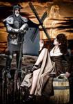 Don Quijote de la mancha y Dulcinea del Toboso by EscribaRegio