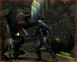 Monster fun with Zaknafein by kkyak1