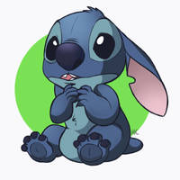 Stitch by HappyCrumble