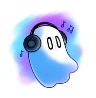 Napstablook (SGDQ) by HappyCrumble