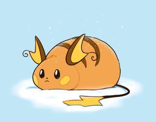 Raichu Dumpling by HappyCrumble