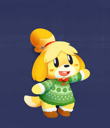 Xsmash - Isabelle by HappyCrumble