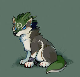 AGDQ2019 - Wolf Link by HappyCrumble
