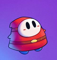 Chunky Shy Guy by HappyCrumble