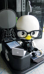 DJ Chicken Little by FreefallandGigan