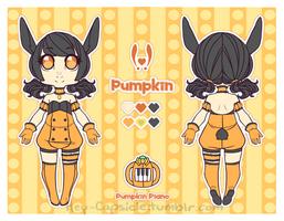 Mew Pumpkin Ref Sheet by Princesomniac