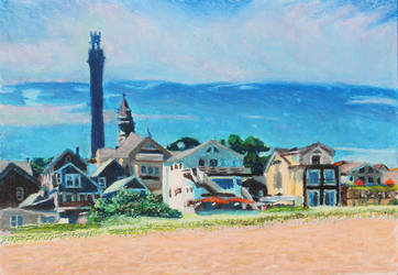 Provincetown Beach Front by TArthurSmith