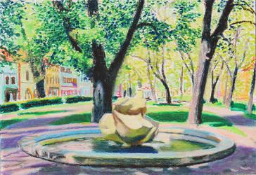 Fountain, Spisska Nova Ves, Park Centre by TArthurSmith