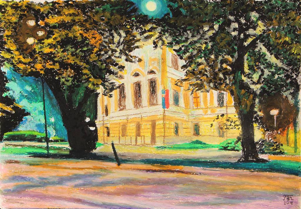 Town Hall, Spisska Nova Ves by TArthurSmith