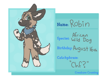 [Creature Crossing] Robin Application by Starwolf700