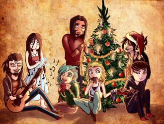 Christmas in Korpikuusi by Ernunoob